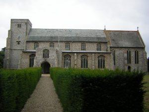 all saints church thornham 2