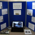 display of village photographs
