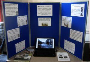 display of village photographs