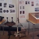 display of old village artefacts